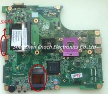 Für toshiba satellite l300 l305 laptop motherboard integrierte v000138460 6050a2170401-mb-a03 sata dvd schnittstelle, 3 monate garantie