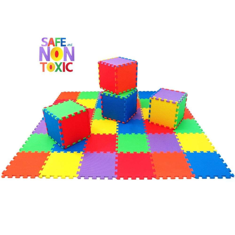 2017! JCC Baby EVA Play Puzzle Emelet Mat, Interlocked csempe, 20 vagy 36 Ingyenes Jiont Szőnyeg és Gyerek szőnyeg Minden méret 30x30cm [szabad él]