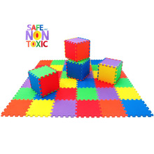 2017! JCC Baby EVA Play Puzzle Floor Mat,Interlocked tiles,20 or36 Free Jiont Rug and Kids Carpet Each Size 30x30cm free Edge
