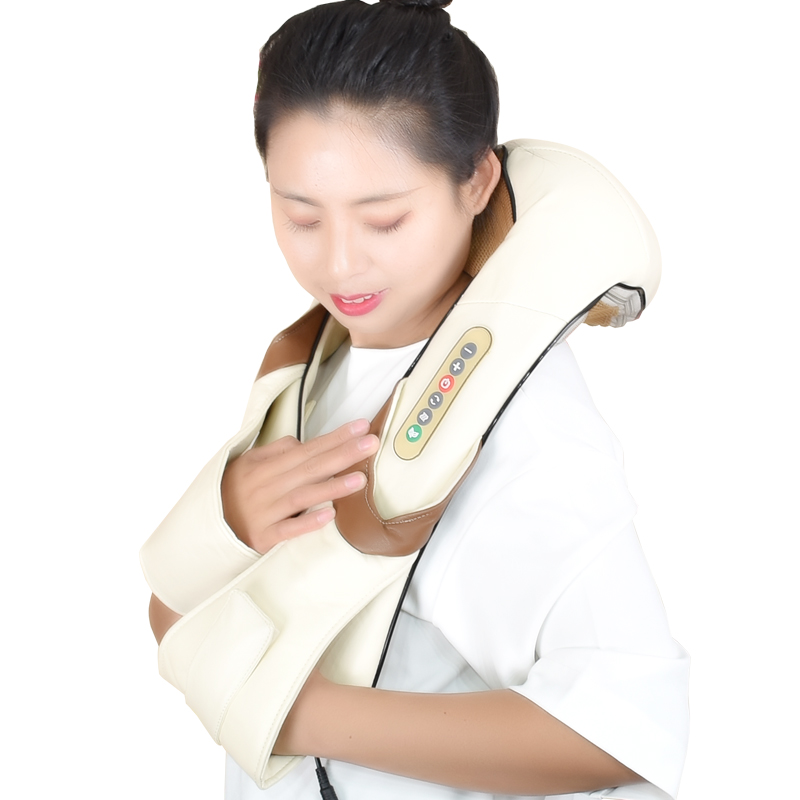 Image 4 - Free Shipping Neck Massager Electric Infrared Heating Massage Device Back Body Shiatsu Massage Equipment Physiotherapy Equipment-in Massage & Relaxation from Beauty & Health