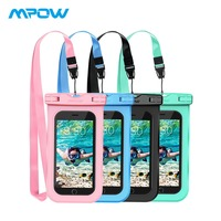 Mopw 4 Pack Universal Phone Case IPX8 Waterproof Phone Pouch Cute Dry Bag For iPhone XS/X/8/8plus/7/7plus/6s/6/6s Plus Samsung