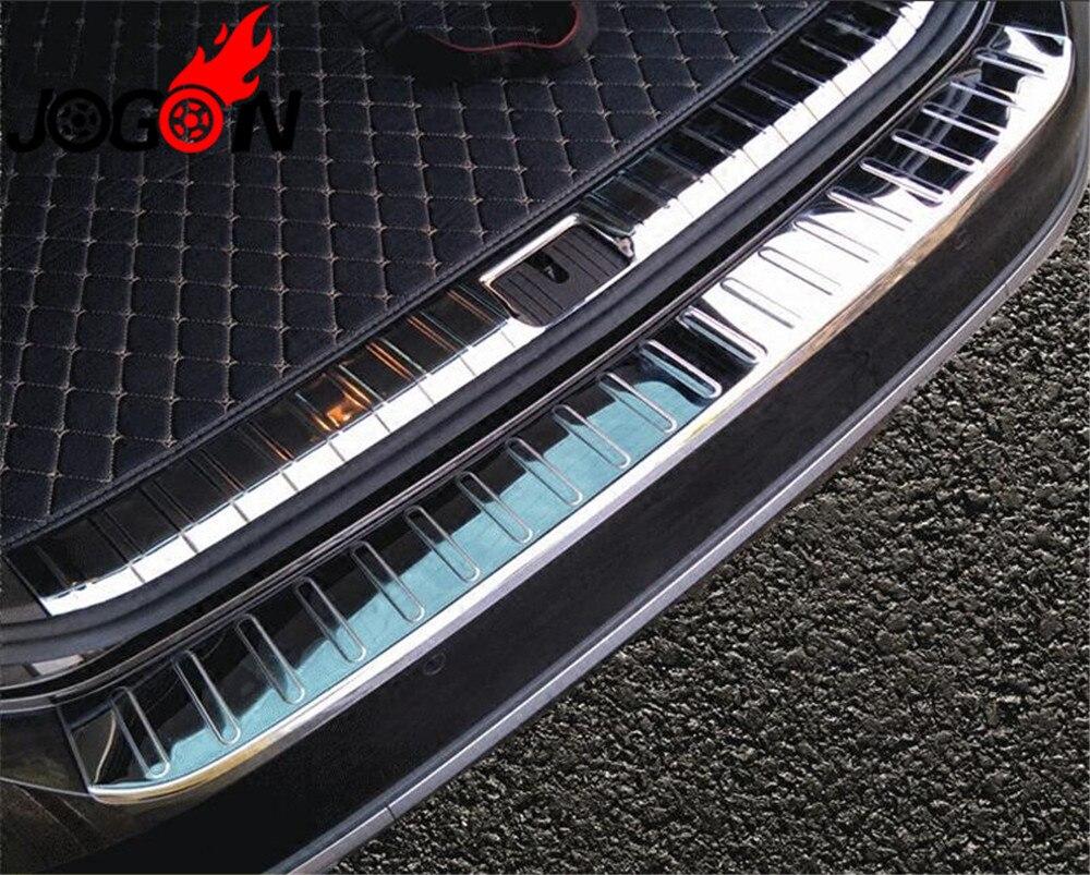Accessoires acier inoxydable protecteur de pare-chocs arrière couvercle de hayon plaque de seuil de porte pour VW Passat B8 Variant Alltrack style de voiture