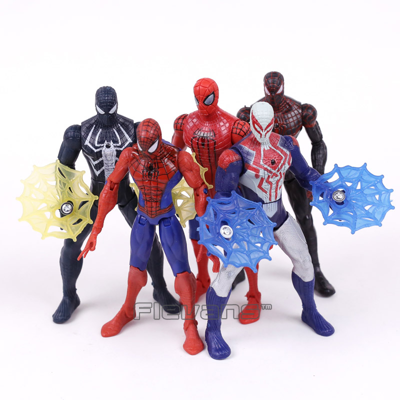 New Movie Spider Man Homecoming Spiderman Iron Man PVC Action Figures Collectible Model Toys