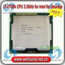 Original for Intel Core i7 2700k Processor 3.5GHz /8MB Cache/Quad Core /Socket LGA 1155 / Quad-Core /Desktop I7-2700k CPU