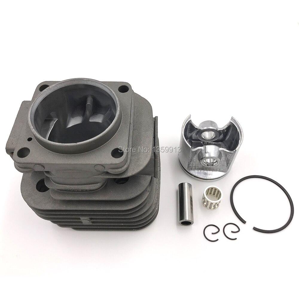 Kit de Piston de cylindre de tronçonneuse 50mm avec anneaux roulement à aiguilles Assy pour H268