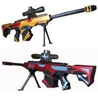 กลางแจ้งอินฟราเรด Bullet ปืนของเล่นเด็กปืนไรเฟิล Submachine นุ่ม Paintball ปืนของเล่นคริสต์มาสของขวัญ-ใน ปืนของเล่น จาก ของเล่นและงานอดิเรก บน