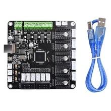 Kfb3.0 3D Control Board For Ramps 1.4/Mega 2560/ A4988/Drv8825/Tmc2100 Stepper Motor Driver For Kossel 3D Printer Hotend Triangl стоимость