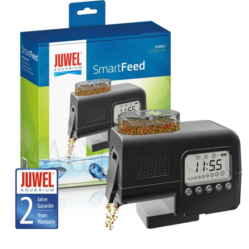 Mangeoire automatique pour aquarium JUWEL, dispositif d'alimentation intelligent. Flocons, distributeurs d'alimentation en granulés. Mangeoire pour Aquarium.