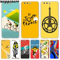 WEBBEDEPP tour de france bike Hard Cover Case for Huawei P10 P9 Lite Plus P8 Lite G7 & Honor 8 Lite 7 4C 4X