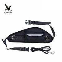 TAILUP Adjustable Hands Free Leash Waist Belt Pet Dog Harness Walking Sport Running Jogging Lead Dog