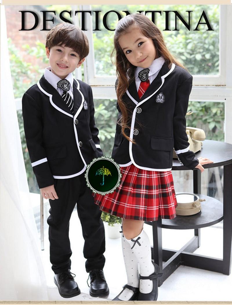5 1 British korean school uniform uniform girls clothg-in ...