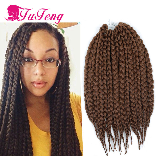 Crochet box braids crochet hair extensions box braids hair xpression braiding hair crochet braid - Crochet braids avec xpression ...
