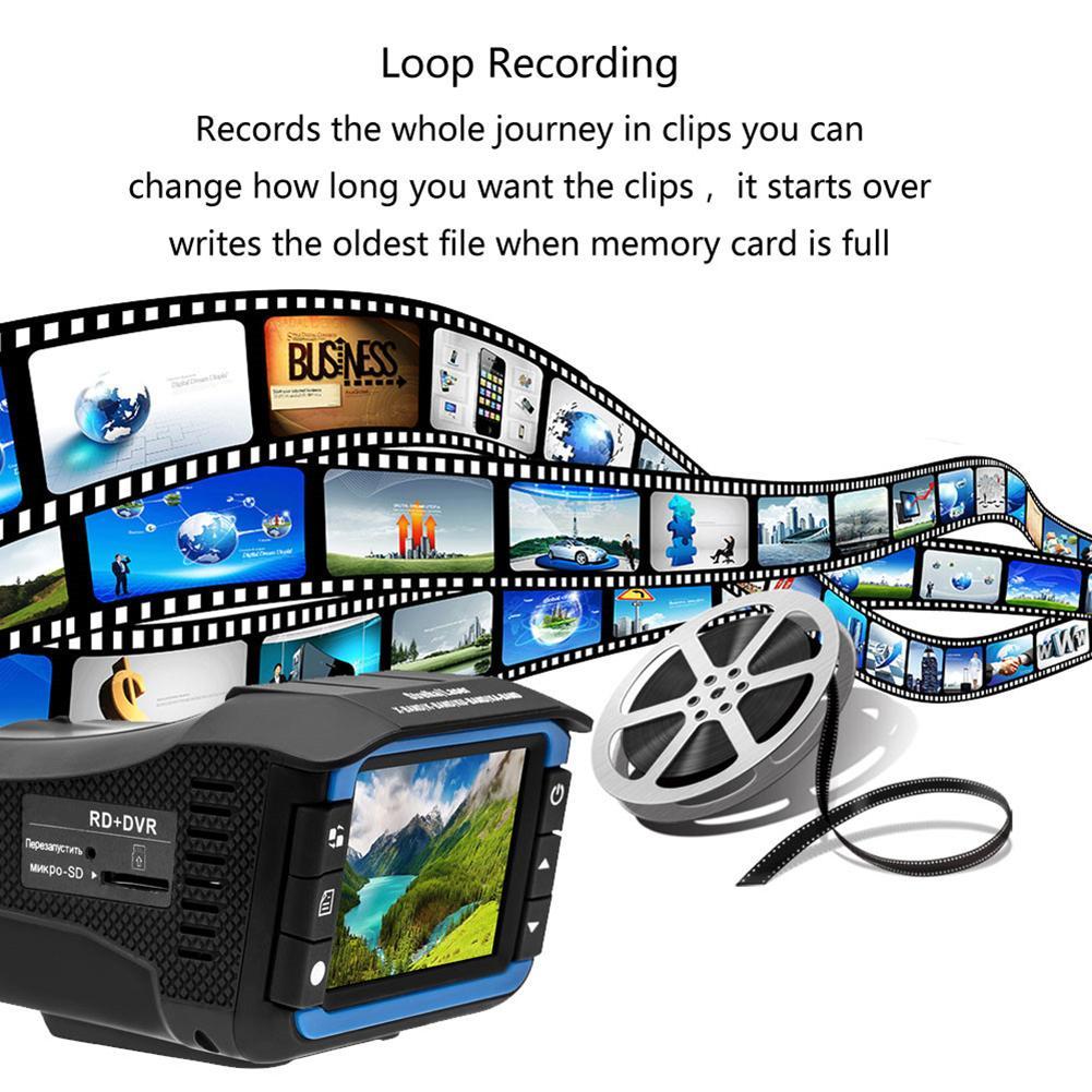 2 In 1 Anti Laser Car Radar Detector Dash Cam Car DVR Camera Recorder 140 Degree Dashcam HD 720P 2 In 1 Anti Laser Car Radar Detector Dash Cam Car DVR Camera Recorder 140 Degree Dashcam HD 720P