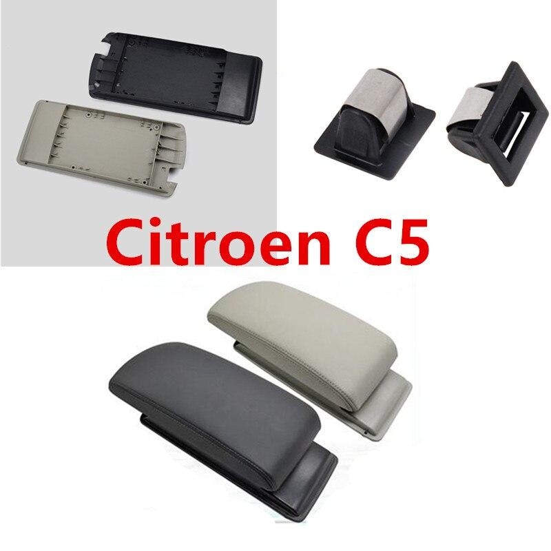 Dla citroena C5, pokrywa skrzynki na ramię, skrzynia środkowego ramienia, skrzynka centralna, pokrowiec do citroena C5 2011-2015