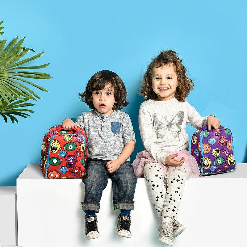 2018 new Quality Waterproof School Bags Blue cooler Monsters Kids Backpack Cartoon Animal Children School Bags For Boys