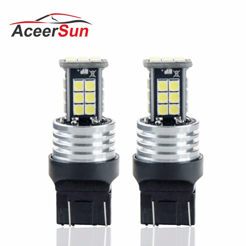 T20 7440 Led car Turn light Signal light Rear lights 12V 3030 SMD chip 5.5W Auxiliary light ampoule Emergency light Super bright