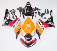 Injection ABS Full Fairing Kit Bodywork for Honda CBR1000RR Fireblade 06 07 2006 2007