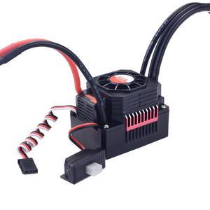 Image 5 - ÜBERTREFFEN HOBBY Wasserdichte Sensorlose Bürstenlosen ESC 60A Speed Controller für 1/10 RC Auto Truck Steuerung Auto Spielzeug für Kinder