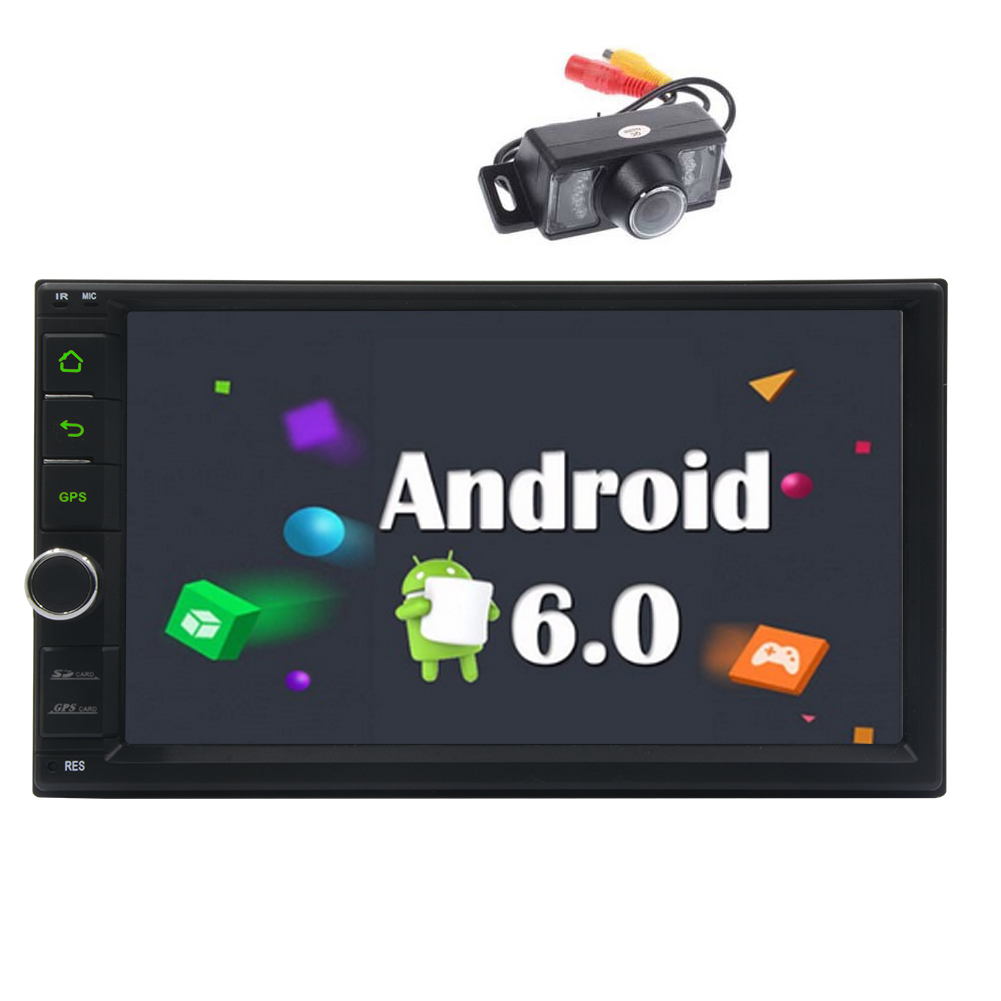 4-Core Android 6.0 Car Stereo In Dash Radio 7