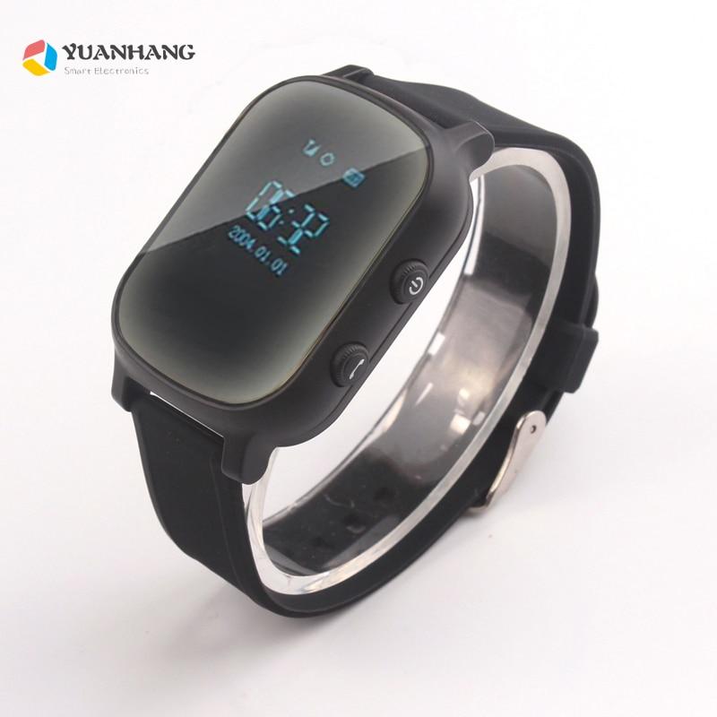 Oled Экран черный T58 Smart gps lbs-трекер локатор телефон часы для детей старшего ребенка Студент Smartwatch с SOS Remote Monitor