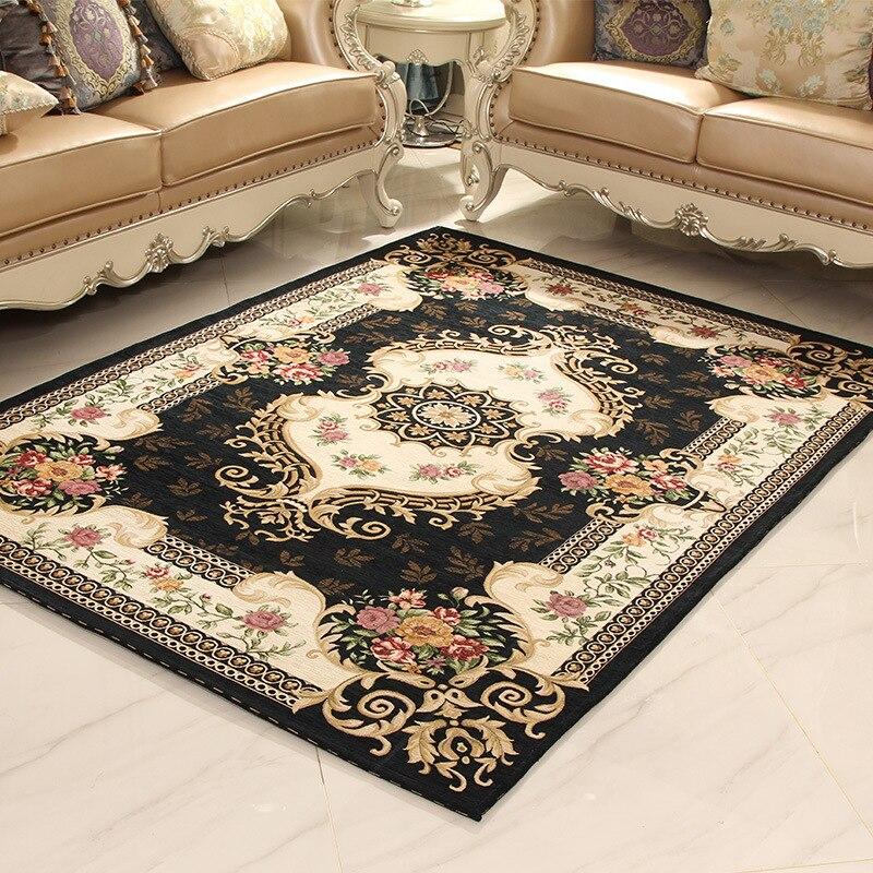 Top Grade Jacquard Living Room Carpet Parlor Rugs Corridor Large Bathroom Non Slip Floor