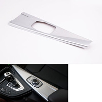 YAQUICKA Car Inner Multimedia Button Panel Cover Trim Sticker Fit For BMW 3 Series F30 316