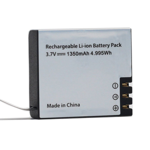 1pc 1350mAh Recharge Li-ion Battery For EKEN H9 H9R H3 H3R Action Camera SJCAM SJ4000 Sport DV Mini Cam DV Battery