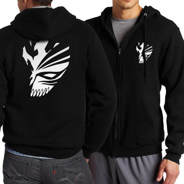 Tokyo Ghoul zipper Hoodie sweatshirts men streetwear brand jackets casual coats