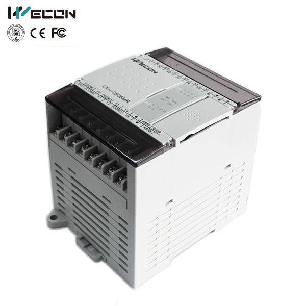 Wecon 14 Points Plc Support  for Control System and Scada(LX3VP-0806MR-D) wecon 24 points plc compatible with q series lx3vp 1212mt d