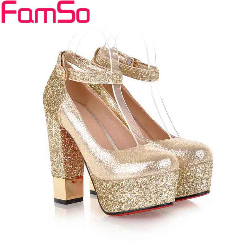 Popular Gold Prom Heels-Buy Cheap Gold Prom Heels lots from China ...