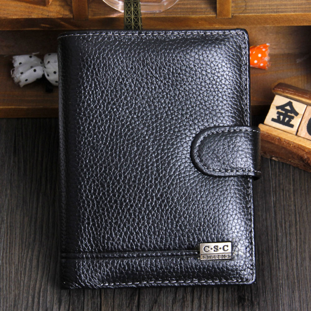HOT New High Quality Men Wallet Genuine Leather Fashion Design Large Capacity Men Purses Wallets Drop Shipping free shipping new high quality men wallets genuine leather wallet fashion design large capacity men purses wallets card holder