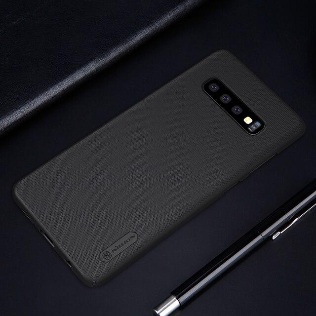 SFor Samsung Galaxy S10 Plus étui S10e S10 5G housse S20 Ultra S20 + étui Nillkin givré bouclier dur dos mat Anti-coup