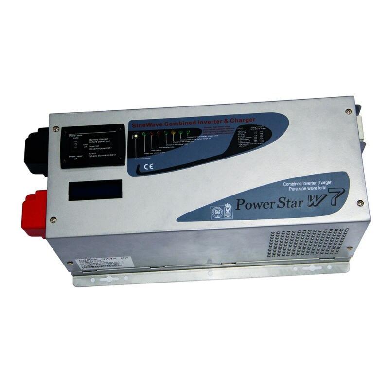 Maylar @ 24 В, 3000 Вт Чистая синусоида автономных инвертора с Зарядное устройство Connect Перезаряжаемые Батарея, выход 50 Гц/60 Гц, 100Vac 240Vac