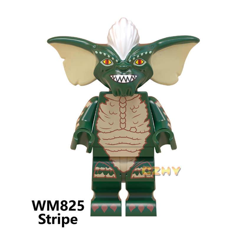 Stay Puft Fantasma BustersS Figuras ET Alienígena Ponto Angie WM823 Sonic Gizmo Tarja Pop Tijolos de Construção Brinquedos para Crianças