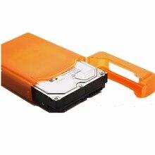Universal Portátil 3.5 IDE SATA HDD Unidade de Disco Rígido Recinto Caso Caixa De Armazenamento De Proteção Para Seagate Para Western Digital