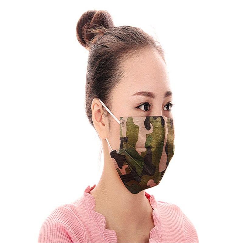 Damen-accessoires FleißIg 100 Pcs/taschen Einweg Aktivkohle Vier-schicht Schutzhülle Schutzhülle Aktivkohle Anti-auspuff Anti-bakterielle Maske 2019 New Fashion Style Online