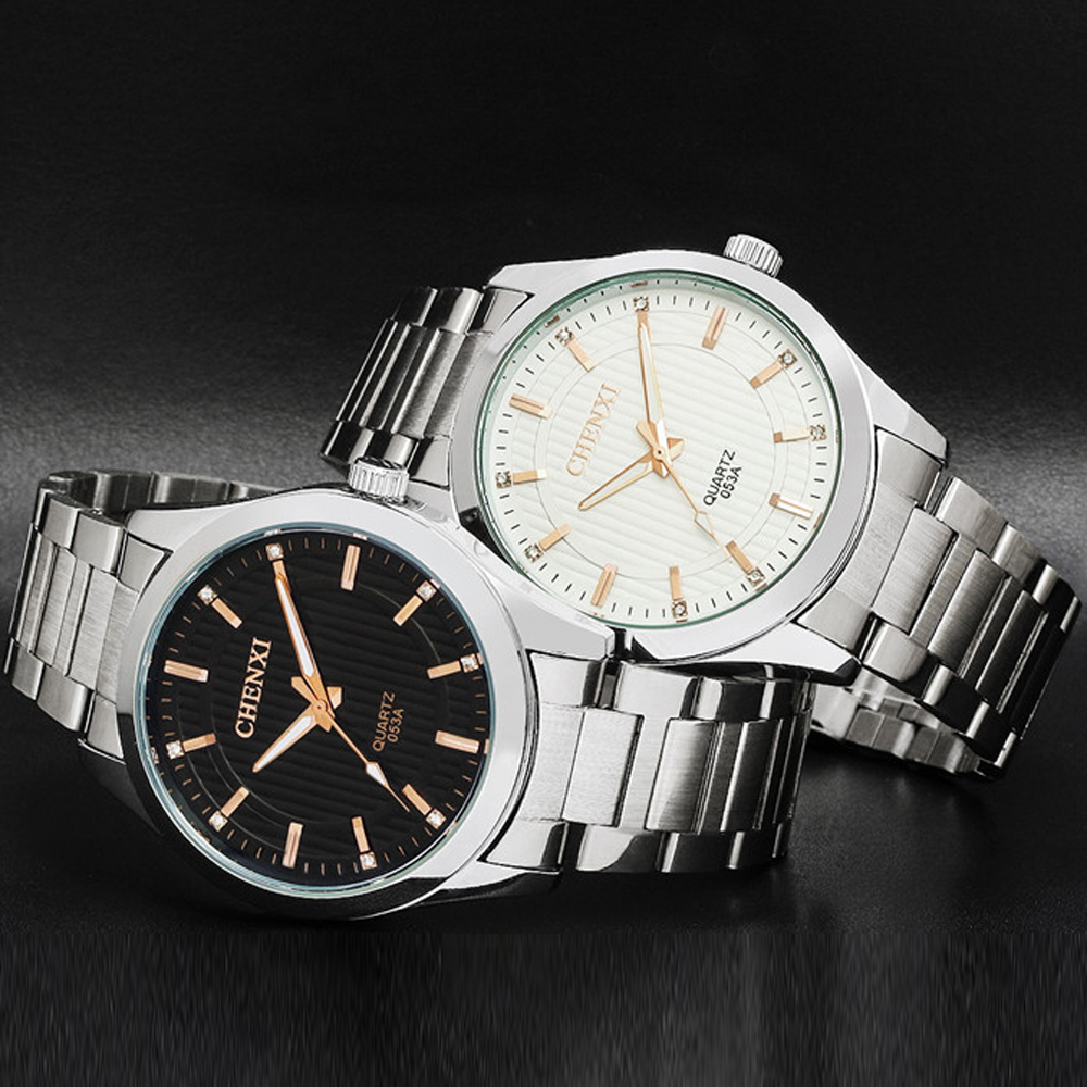 Simple watches men luxury brand watch quartz men full steel wristwatch casual clock relogio for Casual watches