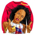 New Fashion Mens/Womens Aaliyah 3D Print Casual Sweatshirt Hoodies S M L XL XXL 3XL 4XL 5XL
