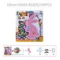 10 мм perler бисер хама бисер мультфильм кролик дети diy Развивающие игрушки Шаблон Пластиковый Трафарет Головоломки/SD-11A-b