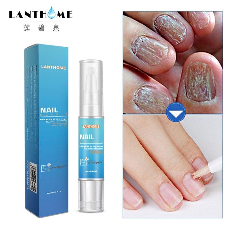 4ML Nail Repair Treatment Liquid Fungus Remover Protective Nail Pen Brush Nail Nourishing Brightening Hand Foot Care  TSLM2