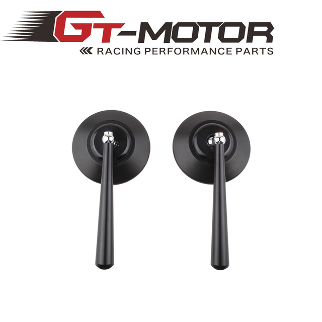 GT Motor - Universal  New cool CNC Motorcycle motorbike side Mirror Motorcycle Mirror Rearview Pair Straight