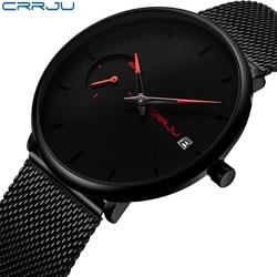 29cfd4aecd6 Crju Sports Data Mens Relógios Top Marca de Luxo Relógio Do Esporte Dos  Homens À Prova