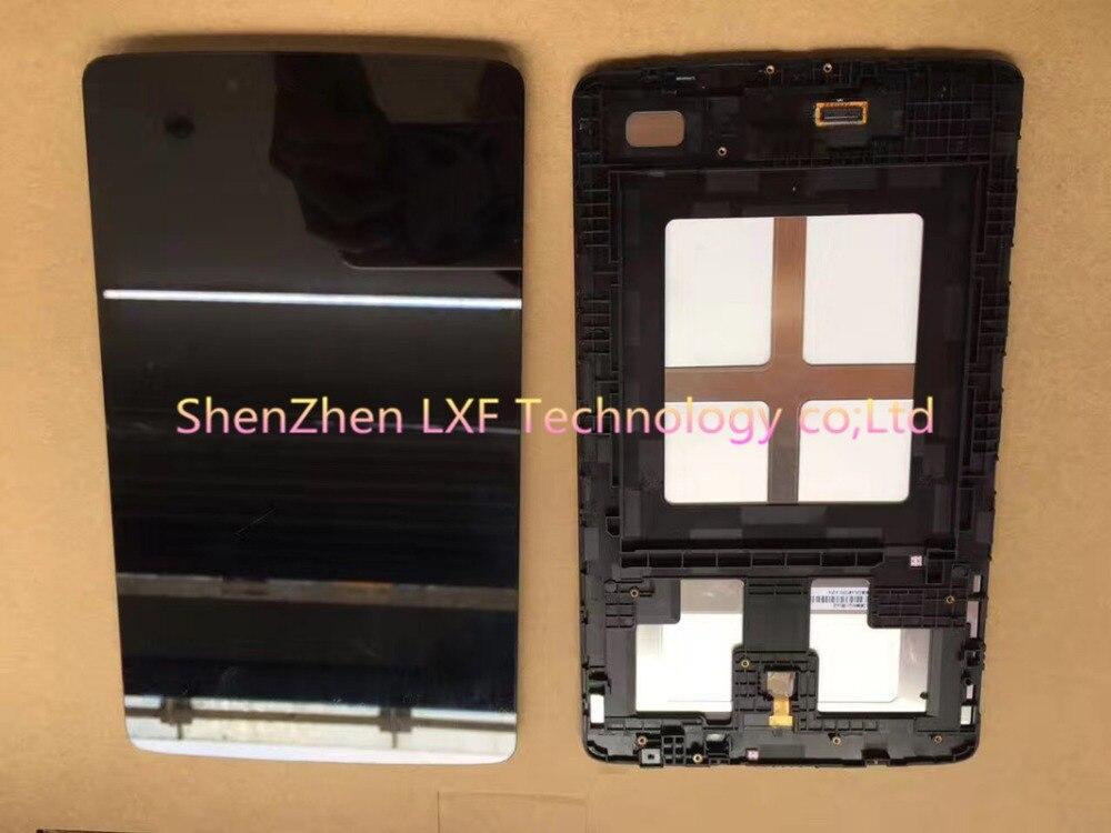 Numériseur d'écran tactile d'affichage à cristaux liquides de 8 pouces pour l'assemblage d'affichage à cristaux liquides de LG V480 V490 avec le cadre