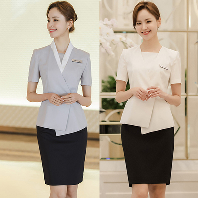 Spring And Summer High-end Korean Professional Suit Female Medical Plastic Surgery Hospital Reception Service