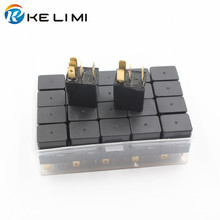 Sealed Car Electronics 12V 30A 5 Pins Universal Relay used to install electric cooling fans,fuel pumps,water Pumps,Horns