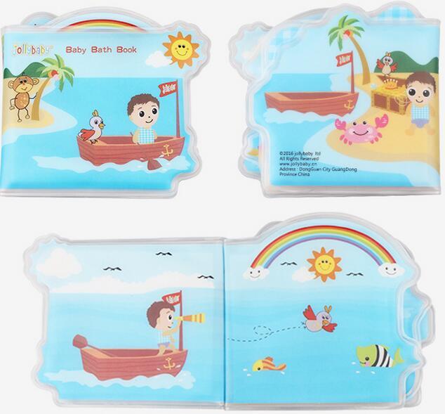 Baby Soft bath Toys Animal waterproof Cloth Book Newborn Early ...