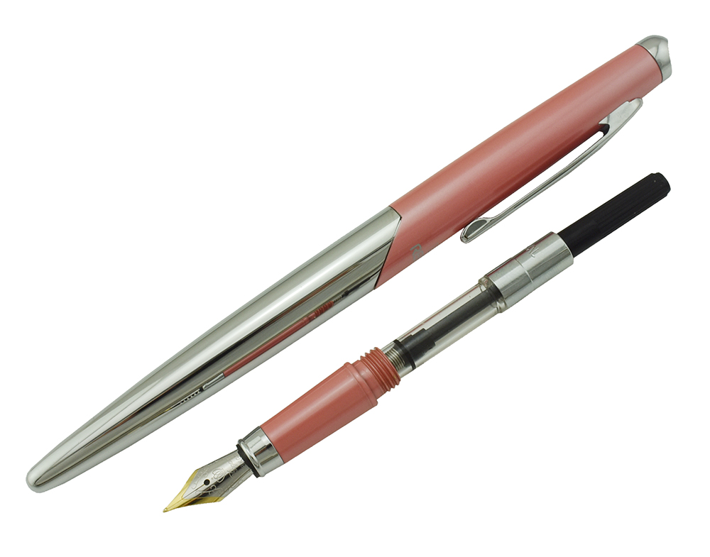 Image 4 - REGAL QUEEN Series Collection Pink Fountain Pen, Germany Iridium Medium Nib Business Graduation Gift Pen for Man Woman-in Fountain Pens from Office & School Supplies