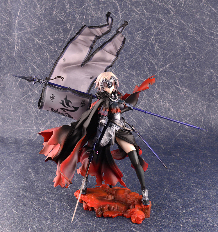 Vogue Jeanne dArc Alter with Flag  Statue Game Anime Fate Grand Order Avenger 1/7 PVC Huge 43cm Figure Figurine Vogue Jeanne dArc Alter with Flag  Statue Game Anime Fate Grand Order Avenger 1/7 PVC Huge 43cm Figure Figurine