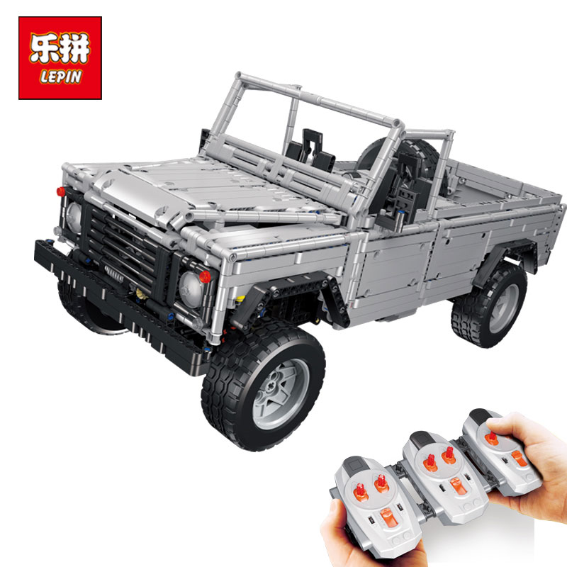 Lepin 23003 Technic series MOC Remote Contr Wild off-road vehicles model Building Blocks LegoINGlys Bricks toys for Children lepin 20011 technic series super classic limited edition of off road vehicles model building blocks bricks compatible 41999 gift