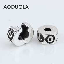 Alloy Beads Spot Round Chamilia DIY beads Stopper Spacer Murano Love Bead Charm Fit For Pandora Bracelet Charms 0302